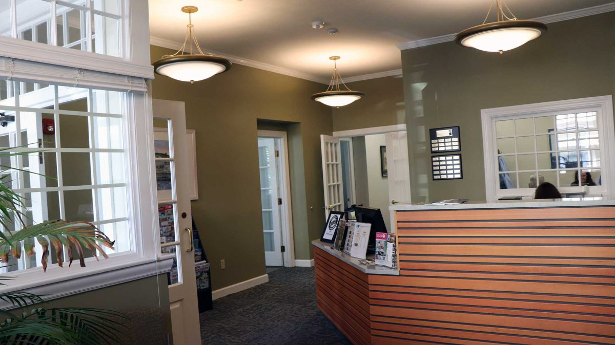 Here is a look at the Rockport Music lobby and Box Office.