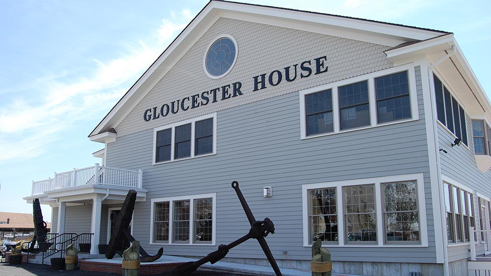 Here is a look at The Gloucester House restaurant's new front and function room.